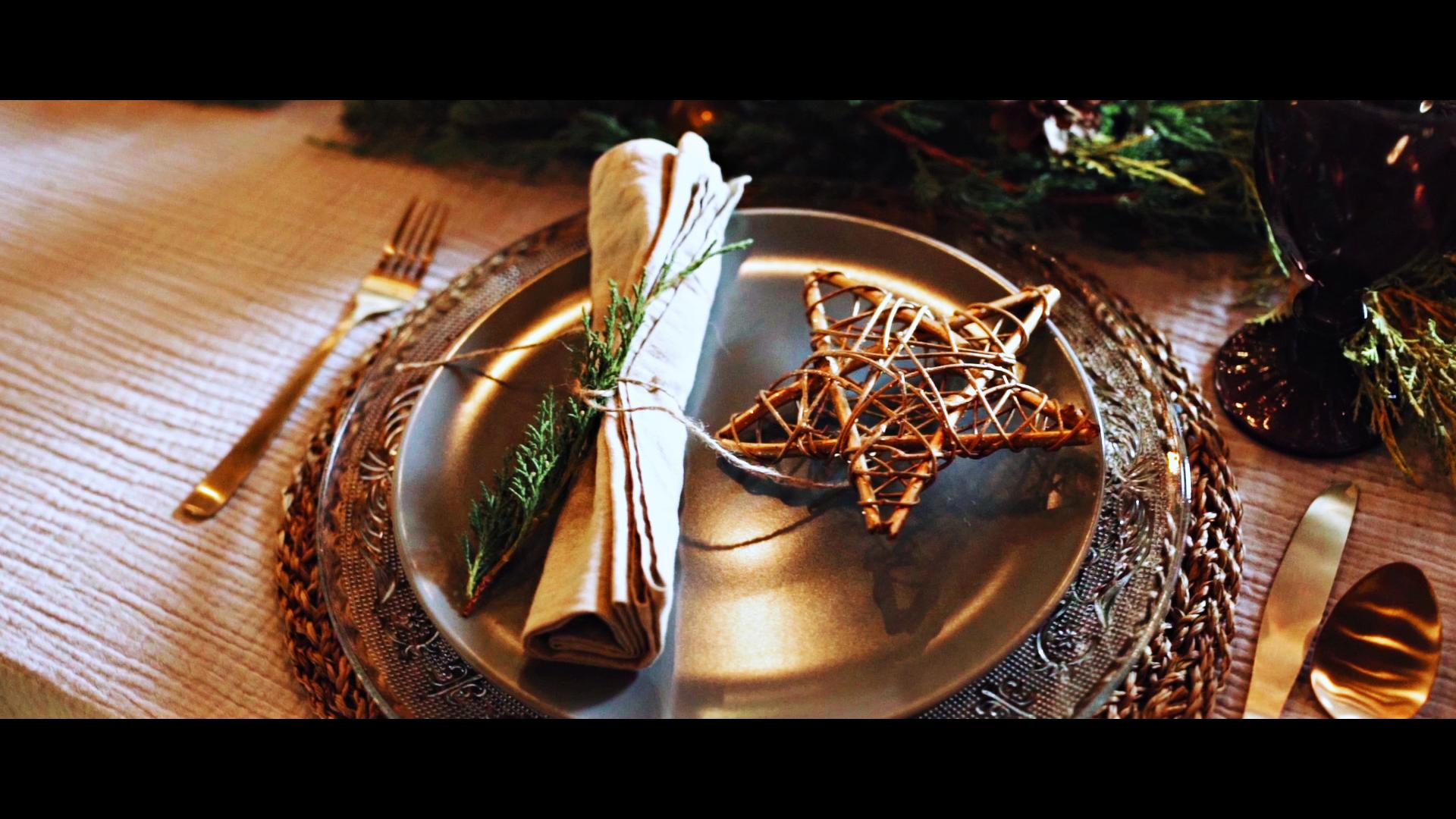 Christmas table B ROLL | Świąteczny stół