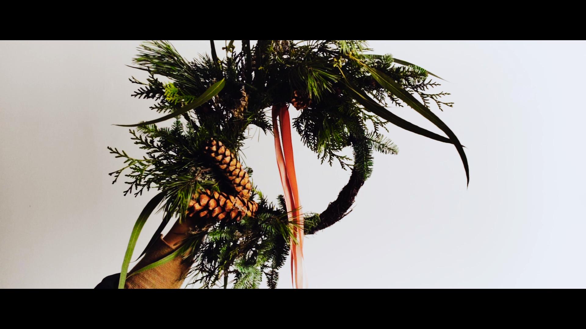 Christmas wreath B ROLL | Świąteczny wianek